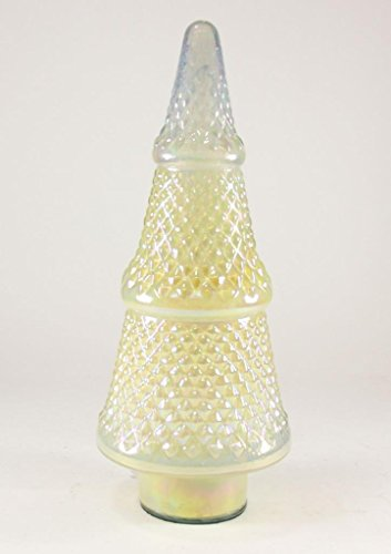 Cody Foster Faceted Opalescent Glass Christmas Tree Light Yellow -  MS-426-YF