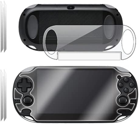 Pack of 2] Sony PlayStation PS VITA Full Body Front & Back / Rear Clear Screen Protector With Cleaning Cloth - TECHGEAR [Importación Inglesa]: Amazon.es: Videojuegos