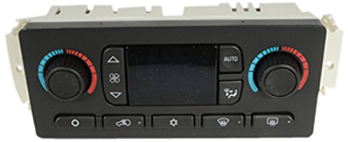 ACDelco 15-73503 GM Original Equipment Heating and Air Conditioning Control Panel with Rear Window Defogger Switch -