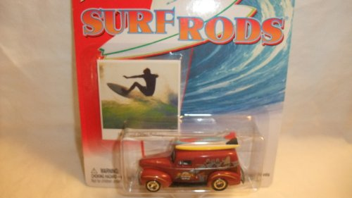 JOHNNY LIGHTNING SURF RODS 1940 FORD SEDAN DELIVERY DIE-CAST REPLICA by Playing Mantis