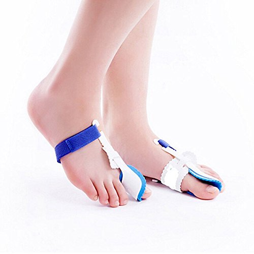 Blue Stones Foot Pain Relief Big Toe Spreader Toe Corrector Orthopedic Feet Care Tool