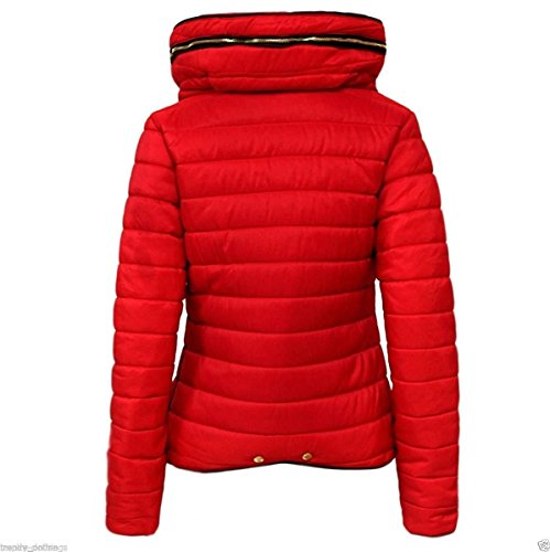 32682630d26d Malaika ® Girls Jacket Kids Stylish Padded Quilted Warm Puffer ...