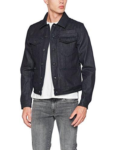 Raw Jeans 1241 Blu Denim G Dei Degli staq Giacca Uomini star 3d D Jkt XOqF5
