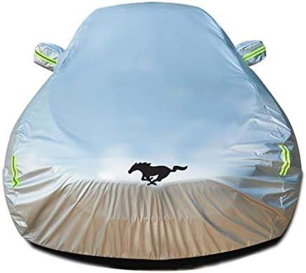 フォードマスタングシェルビーGT350フルカバーと互換性のある車のカバーフルカバー車両カバー屋外屋内雨太陽UV保護全天候用ディフェンダーカバー車のサンシェード防雪防水防塵