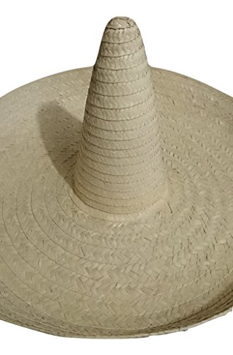 ... Giant Jumbo Sombrero Hat Zapata Straw Spanish Mexican Adult Costume  Accessory ... a7bc07cabc7