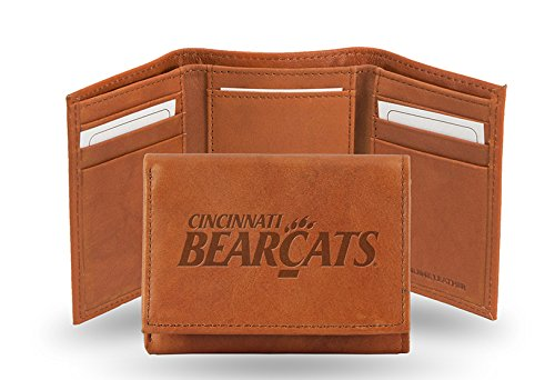 NCAA Embossed Trifold Wallet