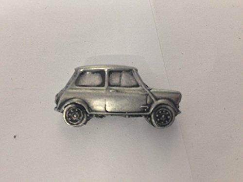 Morris Mini Cooper Voiture MK1Fonctionne avec badge à épingle Rally 3D Effet Étain Badge à épingle Ref145