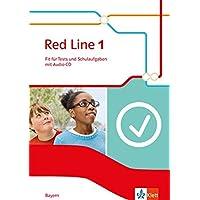 Red Line 1. Ausgabe Bayern: Fit für Tests und Schulaufgaben mit Audio-CD Klasse 5 (Red Line. Ausgabe für Bayern ab 2017)