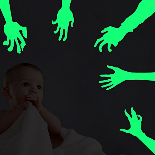 zombie hand decal - 6