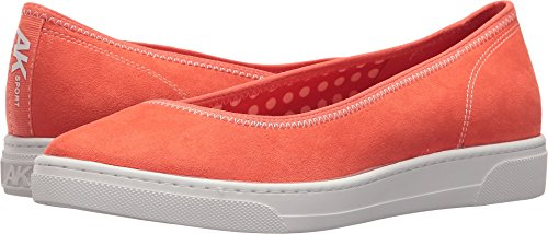 Anne Klein Women's Overthetop Orange/Orange/White Fabric 7.5 M US