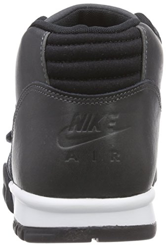Nike Men Sports Shoes Air Trainer 1 Mid Black - Schwarz (Anthrct/Anthrct-blk-lsr Orng) kPtqNwz3