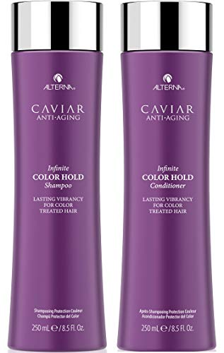 - CAVIAR Anti-Aging Infinite Color Hold Shampoo and Conditioner Set, 8.5-Ounce
