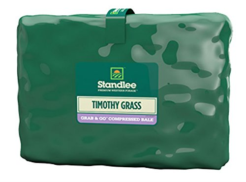 (Standlee Hay Company 1200-20021-0-0 Timothy Bale, 50 lb, Red)
