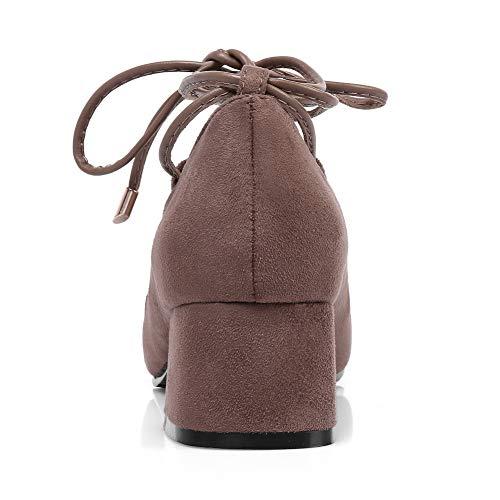 36 SDC05712 Camel 5 Sandales Compensées Femme Marron AdeeSu 6gYdqw6