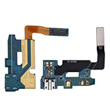 BisLinks® USB Charging Dock Port Flex Cable with Mic for Samsung Galaxy Note 2 II N7100