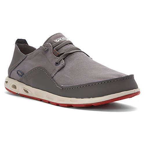 Relaxed Shoes Boat Leather Casual Bahama City Gypsy Men's Grey PFG Vent Columbia wtF1UF