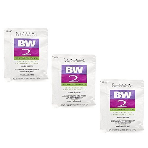 rength Powder Lightener 1 oz (3 Pack) 3 x HC-CRL320830 (Clairol Bw2 Powder)
