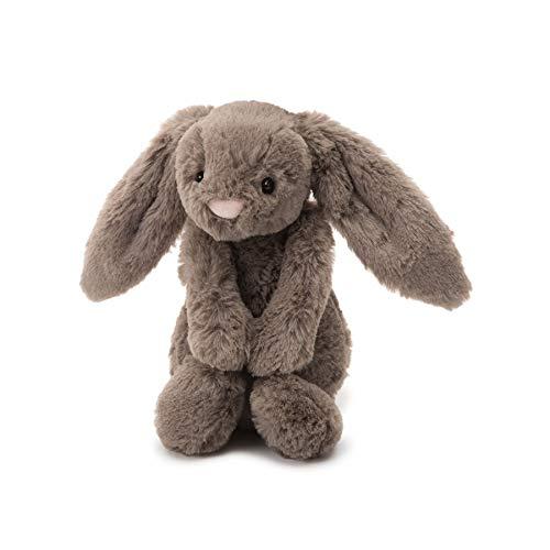 (Jellycat Bashful Truffle Bunny Stuffed Animal, Huge, 21 inches)