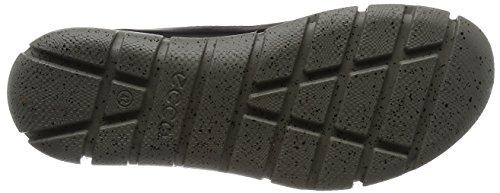 ECCO Intrinsic 1, Zapatillas De Deporte Exterior para Hombre Negro (BLACK/CONCRETE50168)