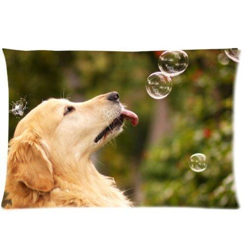 Gxdchfj Fashion&Modern Golden Retrievers Dogs Custom Queen ...