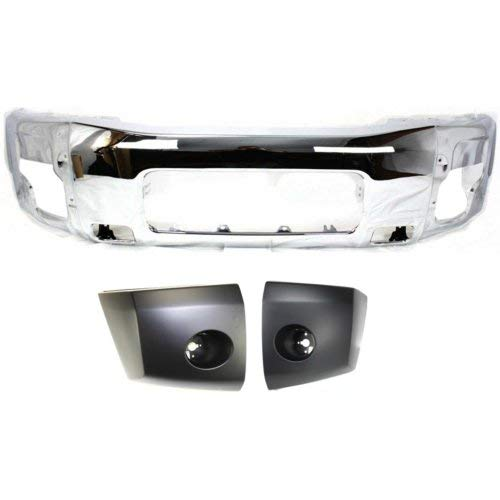 (Bumper Kit Compatible with 2005-2007 Nissan Armada Bumper Bumper End)