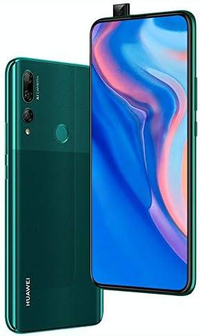 Huawei Y9 Prime 2019 (128GB, 4GB RAM) 6.59″ Display, 3 AI Cameras, 4000mAh Battery, Dual SIM GSM Factory Unlocked – STK-LX3, US & Global 4G LTE International Model (Emerald Green, 128 GB)