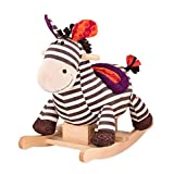 B. toys by Battat Kazoo Wooden Rocking Zebra