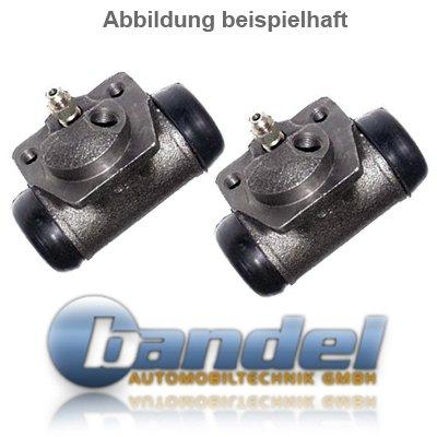 BREMSTROMMELN 200mm BREMSBACKEN RADBREMSZYLINDER ZUBEH/ÖR