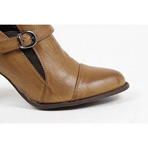 Versace 19.69 Abbigliamento Sportivo Srl Milano Italia Womens Heeled Monkstrap 6855 BIRDY CUOIO