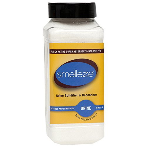 - SMELLEZE Urine Absorber, Solidifier & Deodorizer: 2 lb. Granules for Portable Urinals & Bedpans