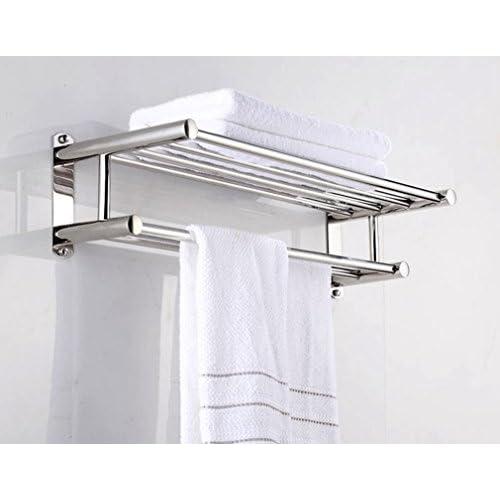 60%OFF Aluminum Double Towel Bar 24 inch wih 5 Hooks ,bathroom ...