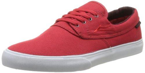 Lakai Männer Camby Skate Schuh Rote Leinwand