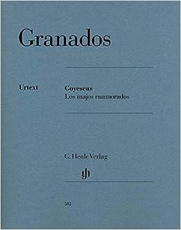 Granados: Goyescas (Los Majos Enamorados) (French) Sheet music – 2015