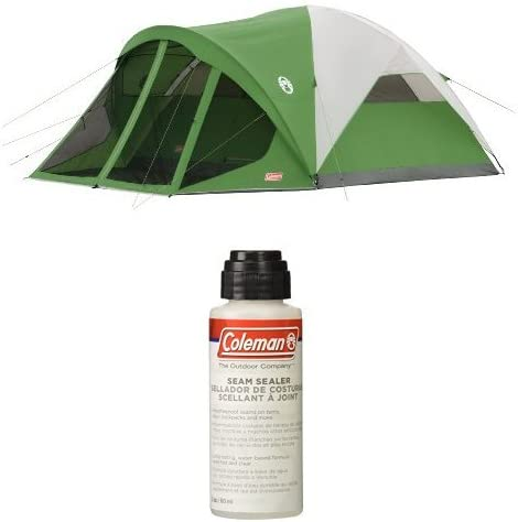 NEW Coleman Evanston 8 Person Tent with Screen Room FREE SHIPPING