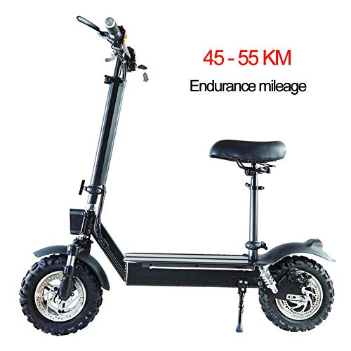 WBaRJ Electric Scooter-Lightweight, Foldable & Easy Carry, Hight-Adjustable, Two-Wheeled Mini Electric Scooter for Teenagers and Adults