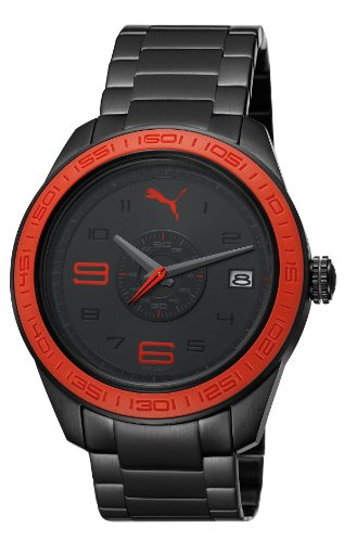 Puma PU102971002 Slice Black Red Watch