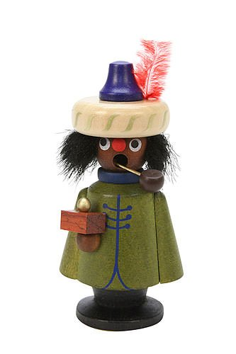 German Incense Smoker Balthasar - 11,5 cm / 5 inch - Authentic German Erzgebirge Smokers - Christian Ulbricht