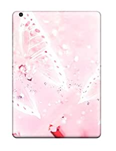 6711705K37719117 Premium Butterfly Back Cover Snap On Case For Ipad Air