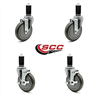 """1 – 1/2 """"ampliar tallo ruedas 2 con freno – Tubo de"""