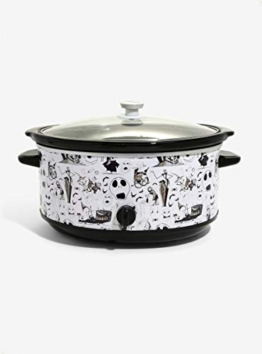 The Nightmare Before Christmas Characters 7 Quart Slow Cooker