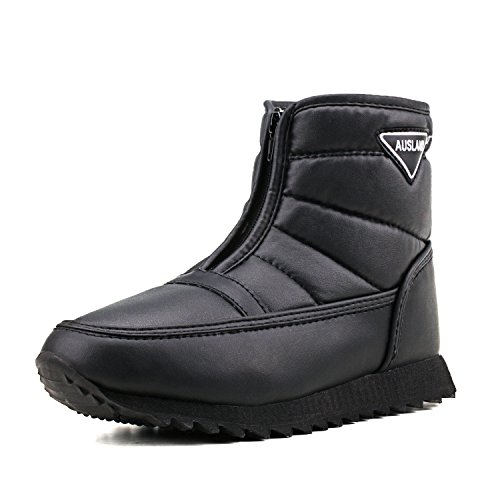 Shenda Women's Short Snow Boot Zipping Winter Boots
