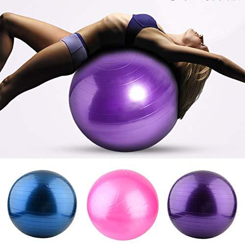 Bomba Entrenamiento Antideslizante Pilates PVC Utilidad Flexibilidad Balance con de Yoga la Espesar Fitness con para Deportes Pesas tapón el Ball la Aptitud xISwqc1