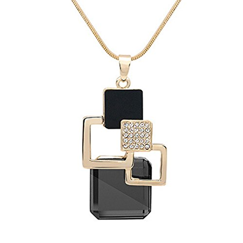 [LOMOL Womens Korean Style Fashion Noble Lovely Alloy Crystal Pendant Sweater Chain Necklace Christmas] (Big Bird Male Costumes)