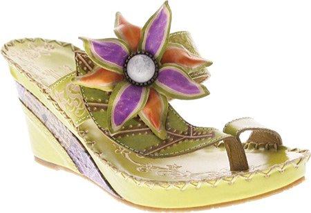 Spring Step Women's Shada Sandals B00H4ERTBI 41 M EU|Green