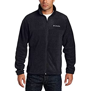 Columbia Men's Granite Mountain Fleece Jacket, Black, X-Large