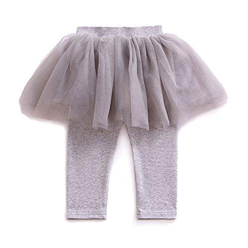 [100% COTTON]Baby cotton pants casual pants Leggings GREY - 4