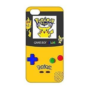 3D Cartoon Anime Pokemon Pikachu For Iphone 5C Phone Case Cover
