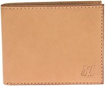 Luciano Natazzi RFID Blocking Designer Men's Leather Slim Bifold Wallet