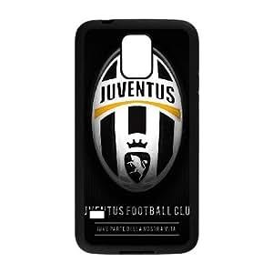 Juventus M7D7Eo Funda Samsung Galaxy S5 funda caja del teléfono celular Negro D3U8MQ duro de la caja del teléfono Funda duro