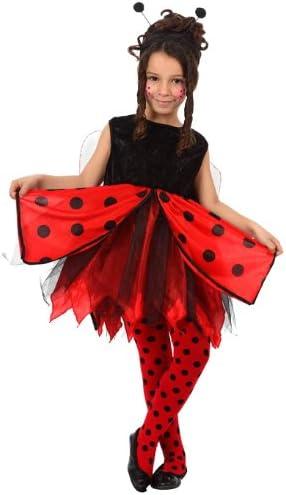 Atosa-12194 Disfraz Mariquita, color rojo, 5 a 6 años (12194 ...